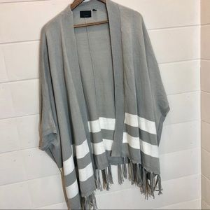 🍁cozy for 🍁🍁Lumiere fringed oversized cardigan